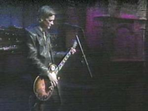 Gibson Les Paul with P-90 pickups; correct model name & year unknown